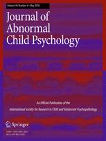 Journal of Abnormal Child Psychology cover Learning to BREATHE